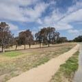 View of Janice's Green Valley at Kenneth Hahn State Recreation Area.- Kenneth Hahn State Recreation Area