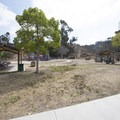 Lower picnic and play area at Kenneth Hahn State Recreation Area.- Kenneth Hahn State Recreation Area