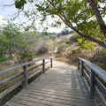 Hiking trail at Kenneth Hahn State Recreation Area.- Kenneth Hahn State Recreation Area