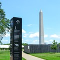 Signs are all around the National Mall to help you find your way.- National Mall + Memorial Parks