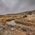 Diana's Punchbowl hot creek. - Diana's Punchbowl/Devil's Cauldron