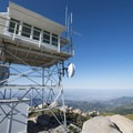Keller Peak Fire Lookout Tower.- Keller Peak Fire Lookout Tower