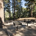 Group Site B at Shady Cove Group Campsites.- Shady Cove Group Campsites