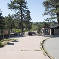 Trailhead and parking area at the National Children's Forest.- National Children's Forest Interpretive Trail
