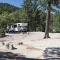 One of 10 Yellow Post Campsites along Keller Peak Road.- Keller Peak Yellow Post Campsites