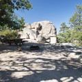 One of 10 Yellow Post Campsites along Keller Peak Road. - Keller Peak Yellow Post Campsites