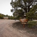 The campground and petroglyph hiking trails lie right next to each other.- Hickison Petroglyph Recreation Area Campground