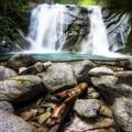 The upper falls- Brandy Creek Falls