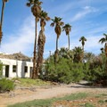 Abandoned rooms of the mineral springs resort.- Desert Studies Center