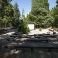 Communal amphitheater at Dogwood Family Campground.- Dogwood Family Campground