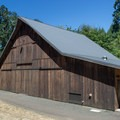 The old barn, which has been converted into an education center.- Beazell Memorial Forest