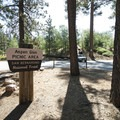 Trailhead at Aspen Glen Picnic Area.- Grand View Point Hike
