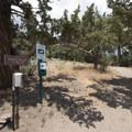 Woodland Trailhead.- The Woodland Interpretive Trail