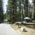 Hanna Flat Campground.- Hanna Flat Campground