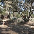 Entry to Big Pine Flat Family Campground.- Big Pine Flat Family Campground