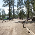 Big Pine Flat Family Campground.- Big Pine Flat Family Campground