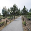 Alpine pedal path at Juniper Point Day Use Picnic Area.- Juniper Point Day Use Picnic Area