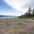 Big Bear Lake Shoreline at Juniper Point Day Use Picnic Area.- Juniper Point Day Use Picnic Area