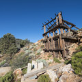 The newer Doble Mine 40 stamp mill, built in 1900.- Doble Mine