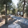 Cougar Crest Trailhead.- Cougar Crest Trail