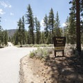 Entry to Heart Bar Campground.- Heart Bar Campground