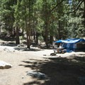 South Fork Campground.- South Fork Campground, Santa Ana River