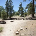 Amphitheater at Lobo Group Camp.- Lobo - Oso Group Camps