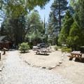 Barton Flats Recreation Area Visitor Center.- Barton Flats Recreation Area