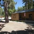 Guard Station at Barton Flats.- Barton Flats Recreation Area