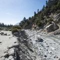 View of Mill Creek en route to Big Falls.- Big Falls