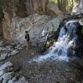 Falls Creek below Big Falls.- Big Falls