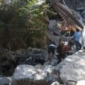 Unfortunately, many visitors disregard San Bernardino National Forest signage.- Big Falls
