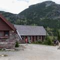Granite Park Chalet overnight lodging.- Granite Park Chalet