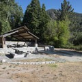 Thurman Flats Picnic Area.- Thurman Flats Picnic Area