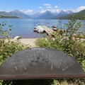 Lake McDonald from Apgar Village.- Lake McDonald Paddle