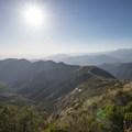 View west to Morton Ridge and the surrounding San Bernardino Mountains from the Morton Peak summit (4,624 ft).- Morton Peak Hike