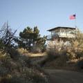 Morton Peak Fire Lookout Tower.- Morton Peak Hike