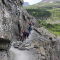 Ranger-guided hikes on the Highline Trail.- Highline Trail