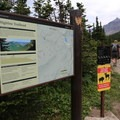 Highline Trailhead.- Highline Trail