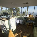 Interior of the Morton Peak Fire Lookout Tower.- Morton Peak Fire Lookout Tower