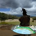 There are interpretive displays at the main entrance near the visitor center.- Keālia Pond National Wildlife Refuge