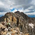 Traversing the ridge toward Mount Wilson.- El Diente to Mount Wilson Traverse