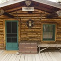 One of Holzwarth's guest cabins.- Holzwarth Historic Site
