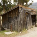 A lumber shed.- Holzwarth Historic Site