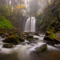 Majestic Falls is certainly the Highlight of the Park.- McDowell Creek Falls County Park