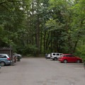 West parking area and trailhead.- McDowell Creek Falls County Park