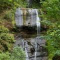 120-foot Royal Terrace Falls.- McDowell Creek Falls County Park