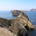Middle and West Anacapa from Inspiration Point.- Anacapa Islands
