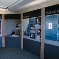 Inside the visitor center.- Anacapa Islands