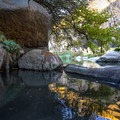 A pool with a view.- Pyramid Hot Spring